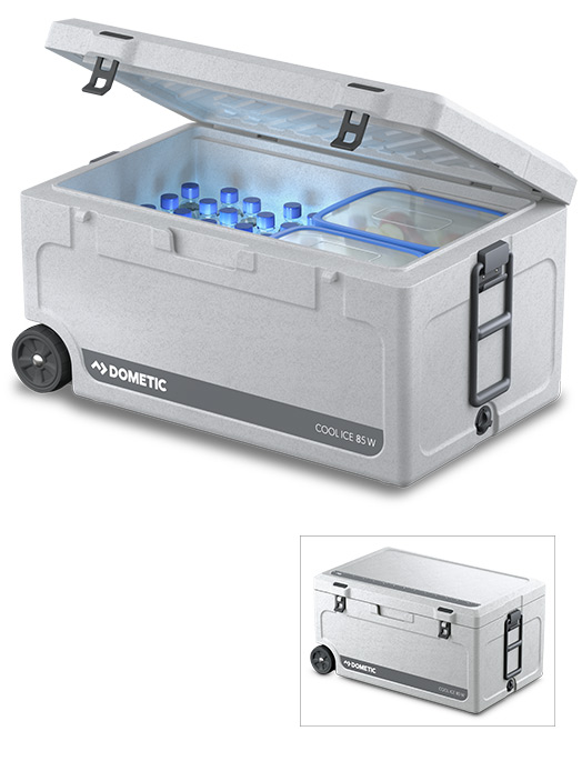 DOMETIC COOL-ICE CI 85W avec roulettes / 86 LITRES